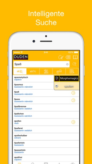 Duden German Dictionaries on the App Store