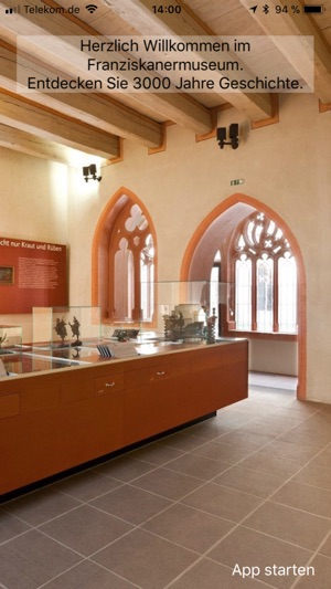 Franziskanermuseum Screenshot