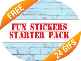 The Fun Stickers Starter Pack is now here, showcasing two stickers from each of our sticker packs