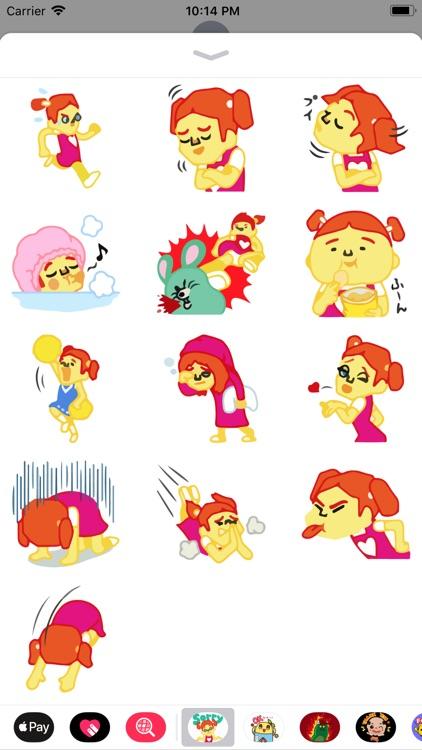 Gigi is Best Cute Sticker Pack screenshot-3