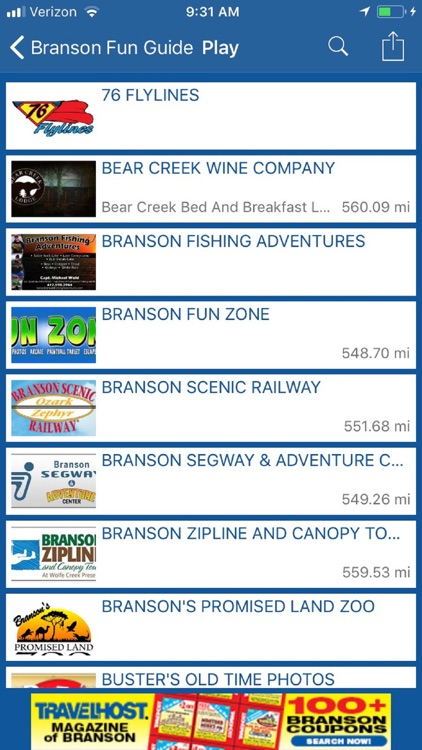 Branson Fun Guide screenshot-2