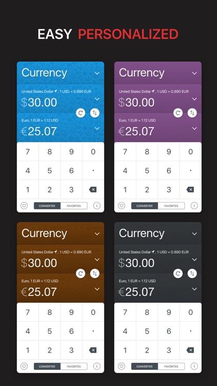 GlobeConvert Currency & Units screenshot-4