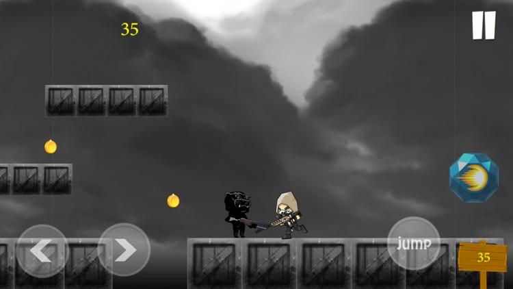 Black Panther Runner Shooter screenshot-4