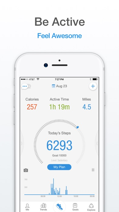 Pacer: Pedometer & Walking App app image