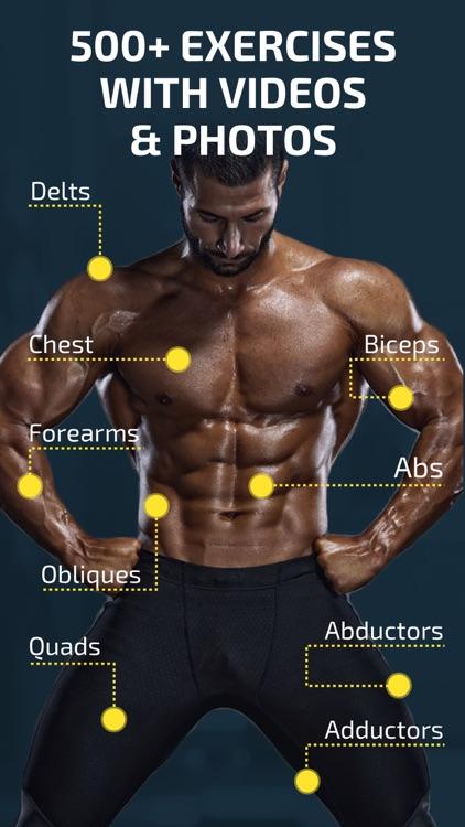 Workout: Gym tracker & planner screenshot-3