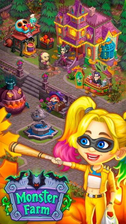 Monster Farm: Happy Halloween screenshot-3