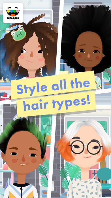 Toca Hair Salon 3 app image