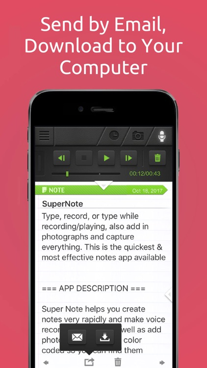 SuperNote Notes Recorder&Photo screenshot-3