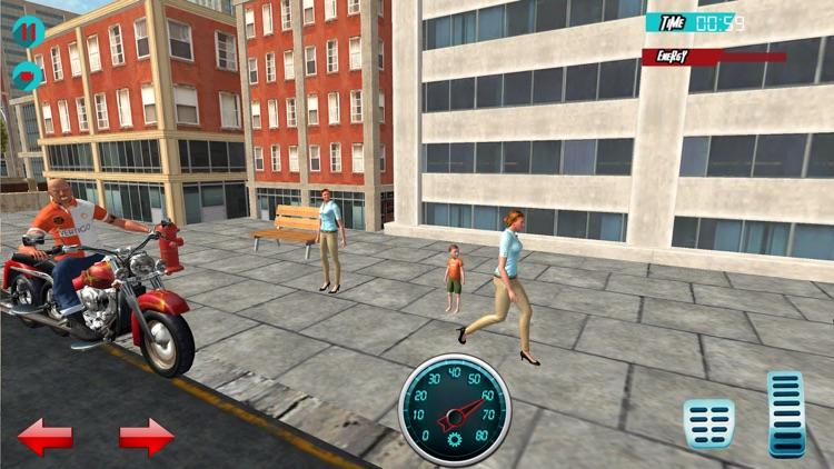 Bike Racing: Taxi Driver screenshot-3