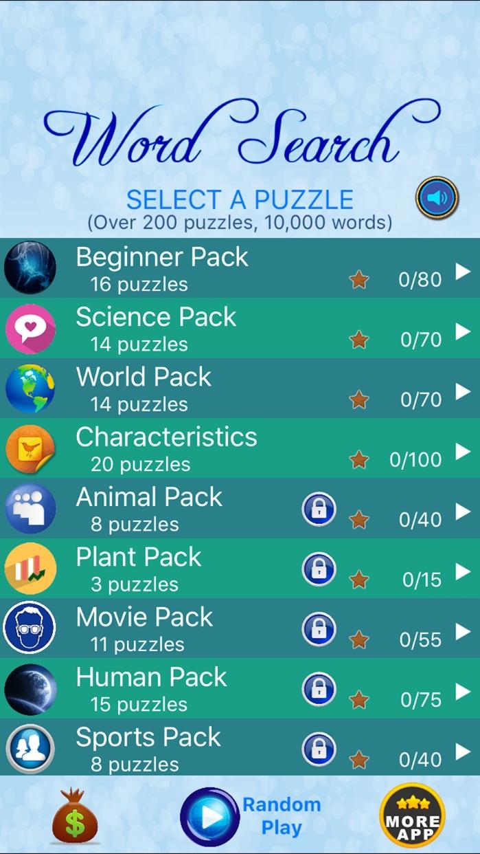 Word Search - Find Crosswords Screenshot