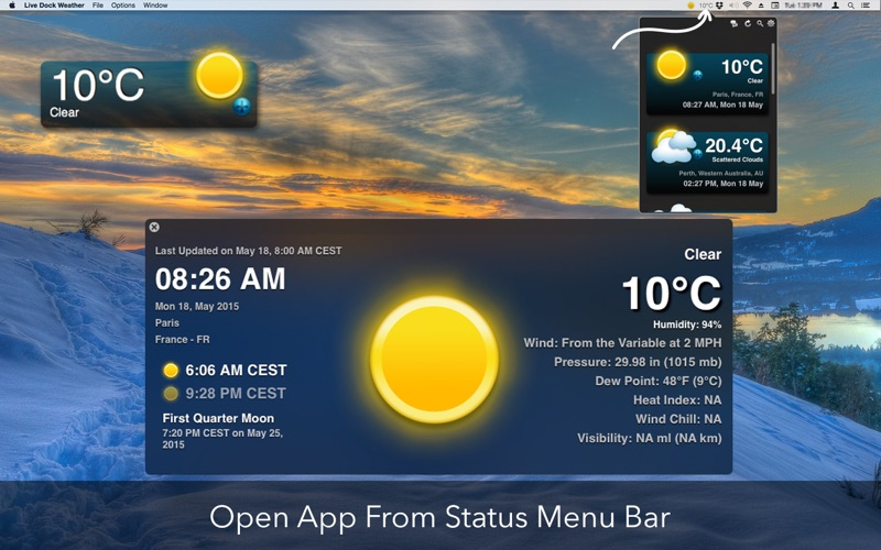 码头天气 Live Dock Weather for Mac
