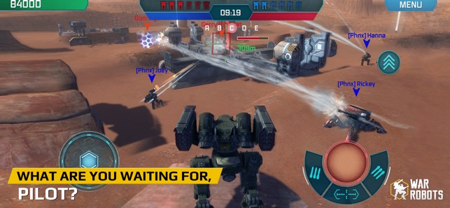 war robots on the app store