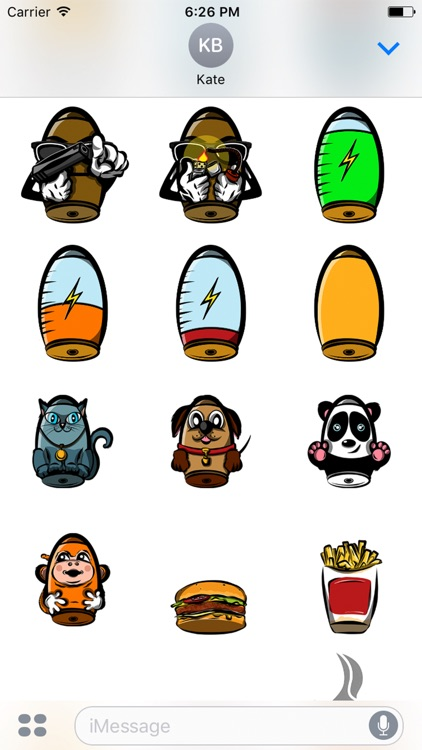 Bullet Joe Stickers screenshot-3
