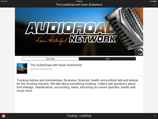 iPad Image of AudioRoad
