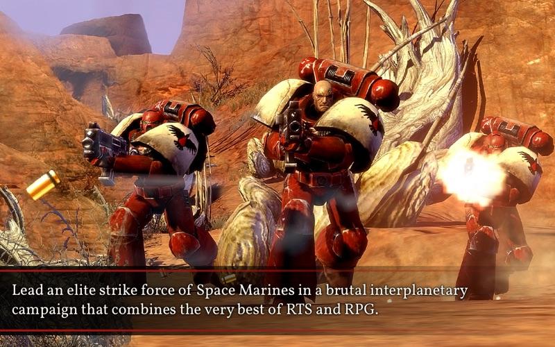 Warhammer 40K: Dawn of War II screenshot 1
