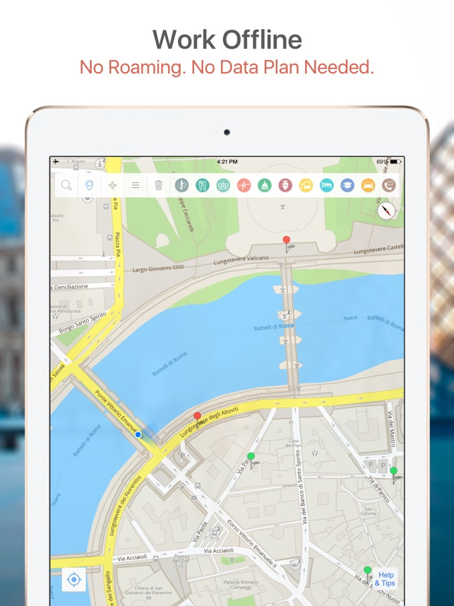 Gent Map and Walks on the App Store