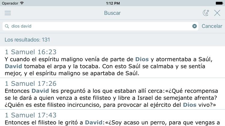 Biblia Cristiana en Español screenshot-3