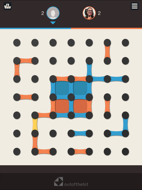 Dots and Boxes - Classic Board Games screenshot