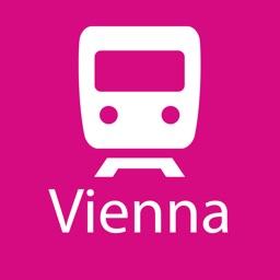 Vienna Rail Map