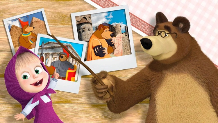 Masha and the Bear: Evolution