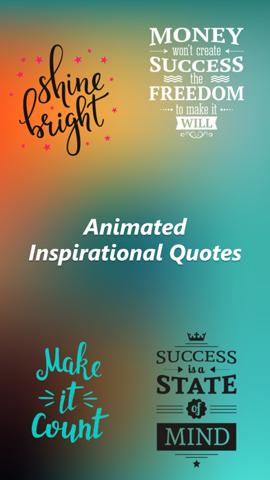 Animated Inspirational Quotes! 1