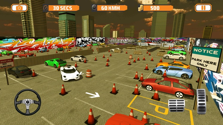 Real City Dr Parking Simulator 2017 screenshot-4