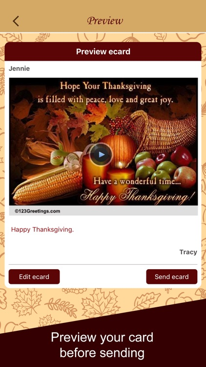 Thanksgiving Cards & Wishes screenshot-4