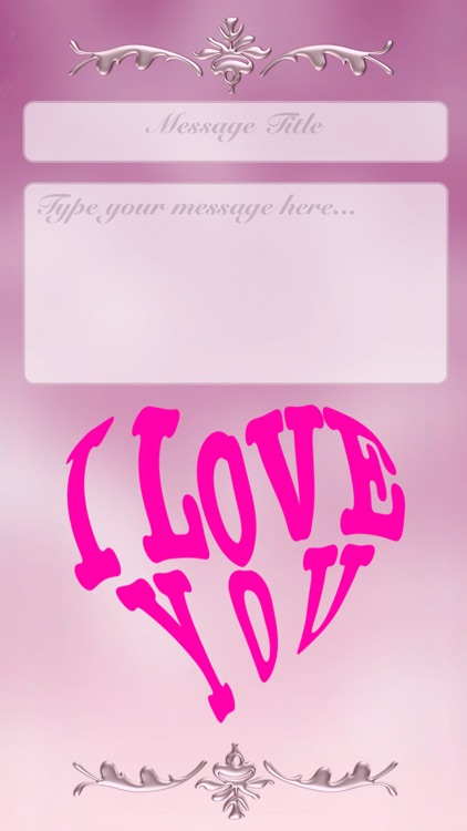I Love You • Greeting cards screenshot-1