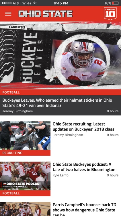 Landof10 - Big10 Football News screenshot-2
