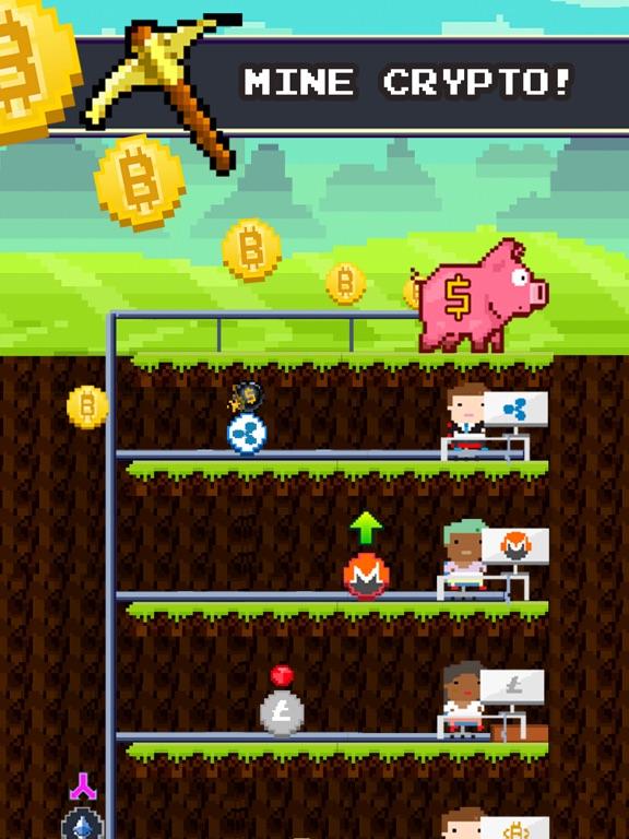 Bitcoin Miner: Idle Tycoon-ipad-0