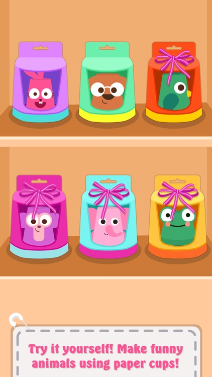 Paper Cup Animals screenshot-3