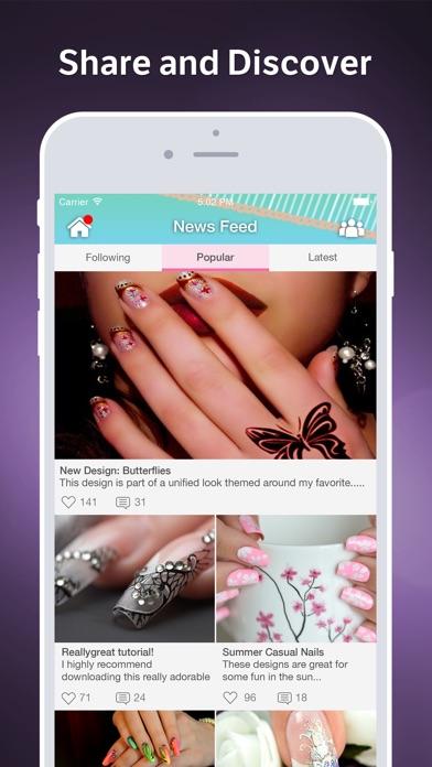 Nail Art Amino Screenshot on iOS