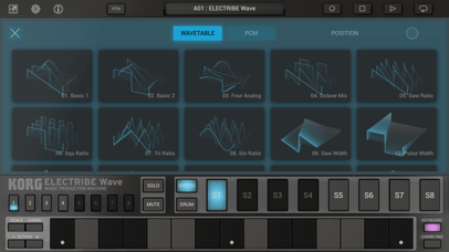 KORG ELECTRIBE Wave screenshot1