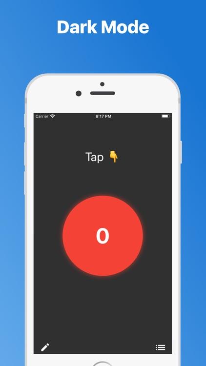 Tap: Simple Beautiful Counters screenshot-3
