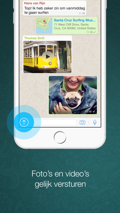 Screenshot for WhatsApp Messenger in Netherlands App Store