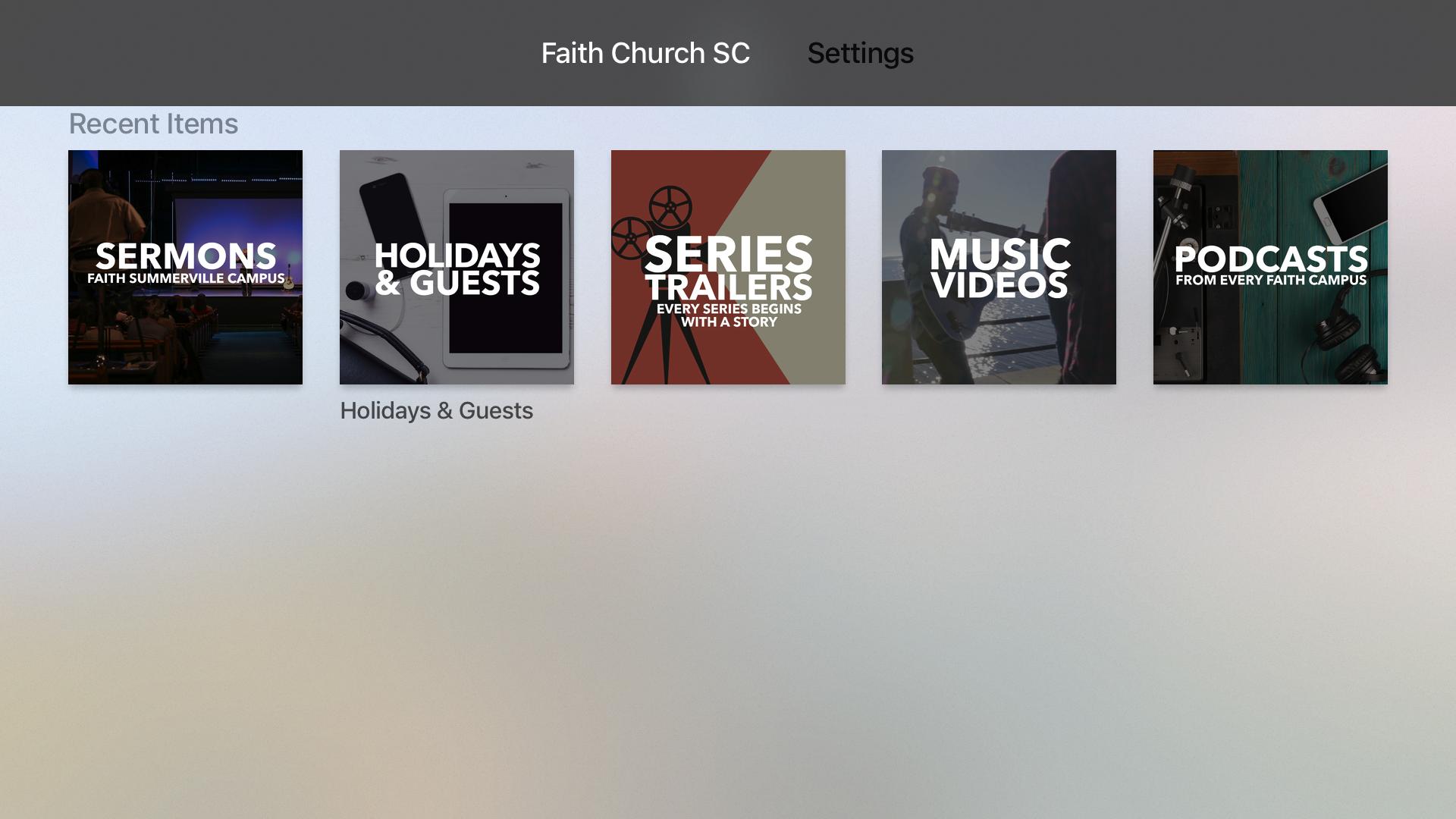 Faith Church SC screenshot 7
