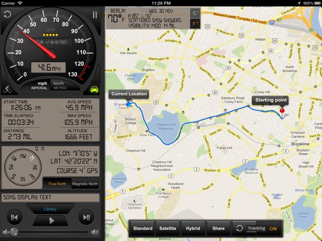 Speedometer GPS+ Screenshot