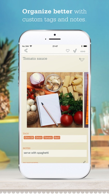 OrganizEat - Recipe Organizer screenshot-6