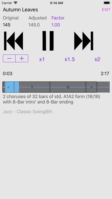 Jazz and Blues Sampler screenshot 1