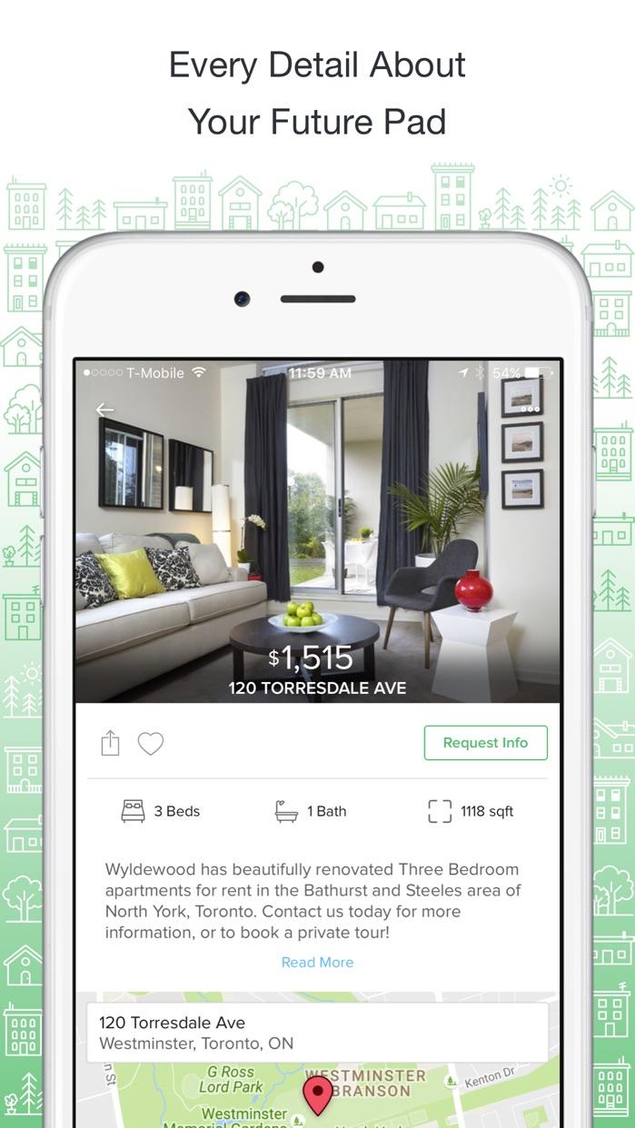 PadMapper Apartment Finder Screenshot