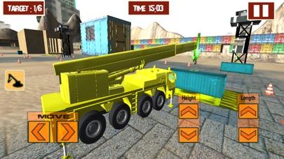 Heavy crane Construction Sim screenshot