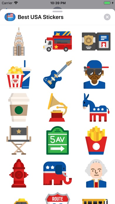 Best USA Stickers screenshot 2