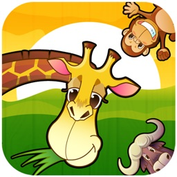 Toddler Zoo Animals Puzzle HD