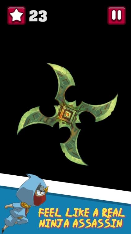 Ninja Star Fidget Spinner Game screenshot-3