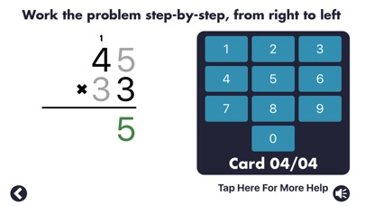 Screenshot #6 for MathEdge Multiplication