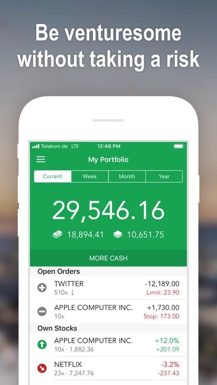 Best Brokers Stock Market Game screenshot-0