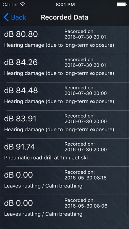 dB Sound Meter screenshot-4
