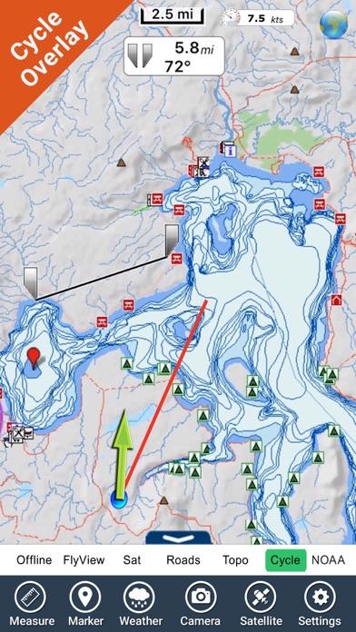 Yellowstone National Park - GPS Map Navigator - AppRecs