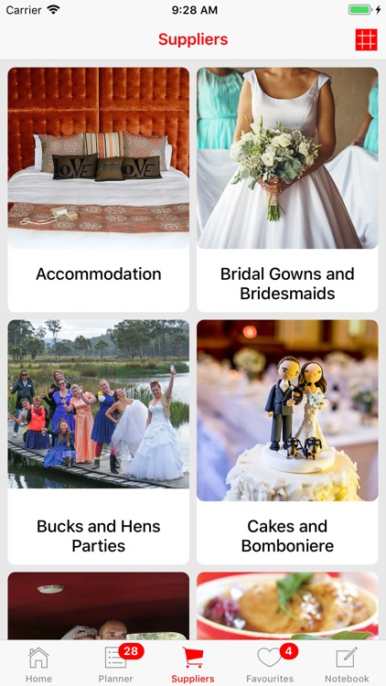 Weddings Tasmania Planner
