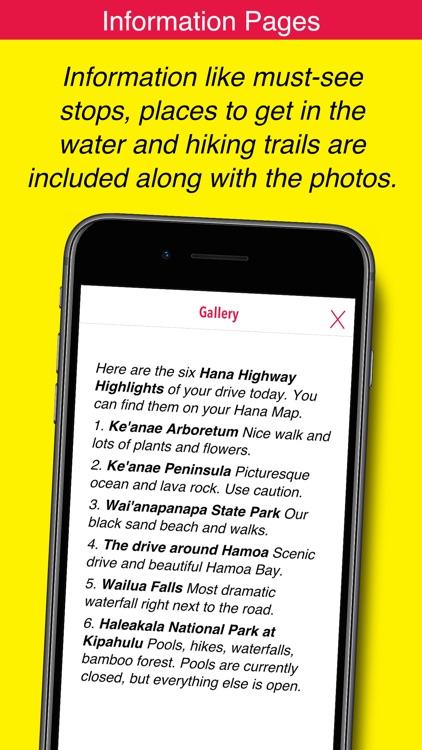 Hana GPS Guide screenshot-7